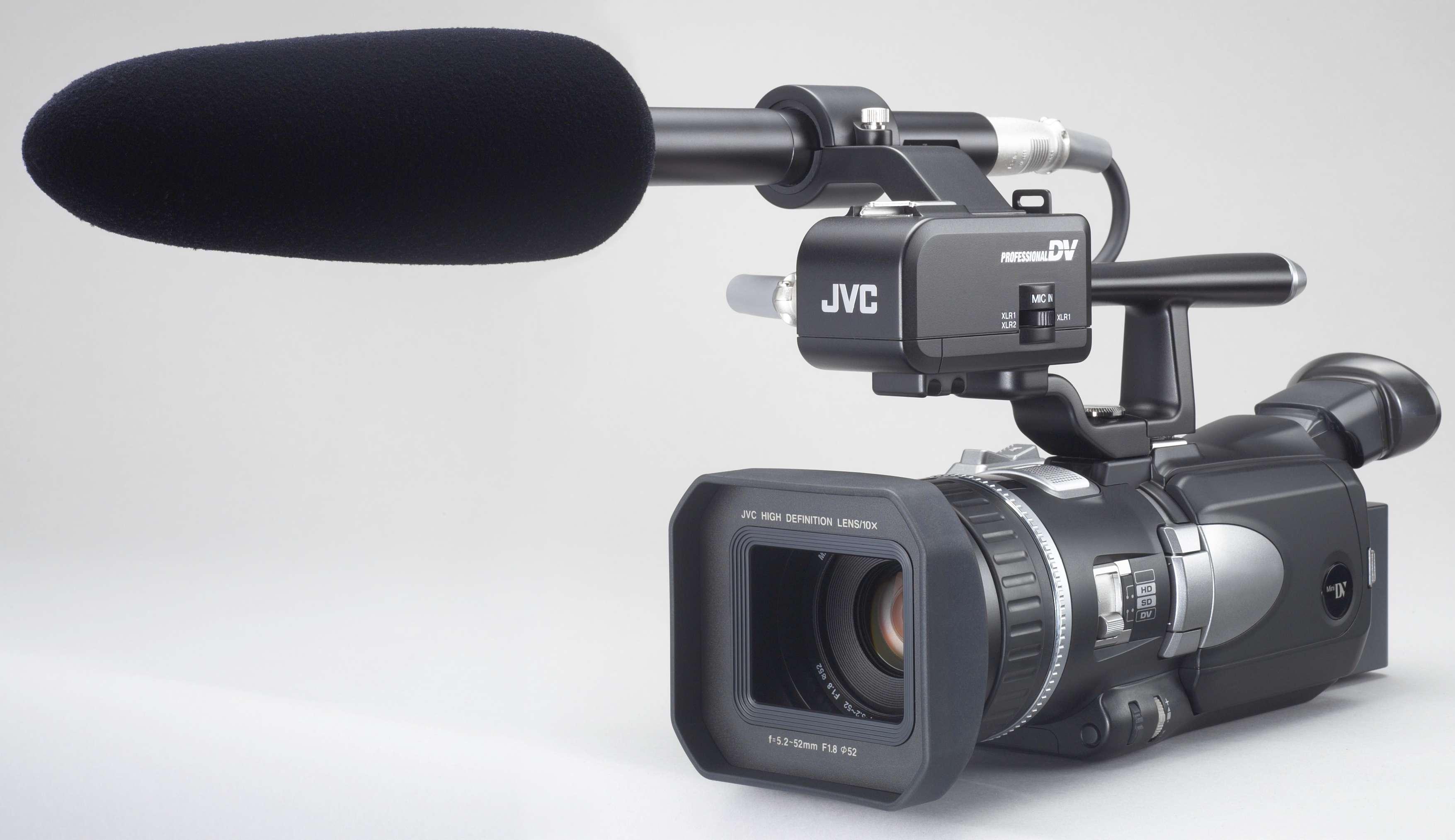 Video Camera Stabilizer >> JVC JY-HD10U HDTV Cameras