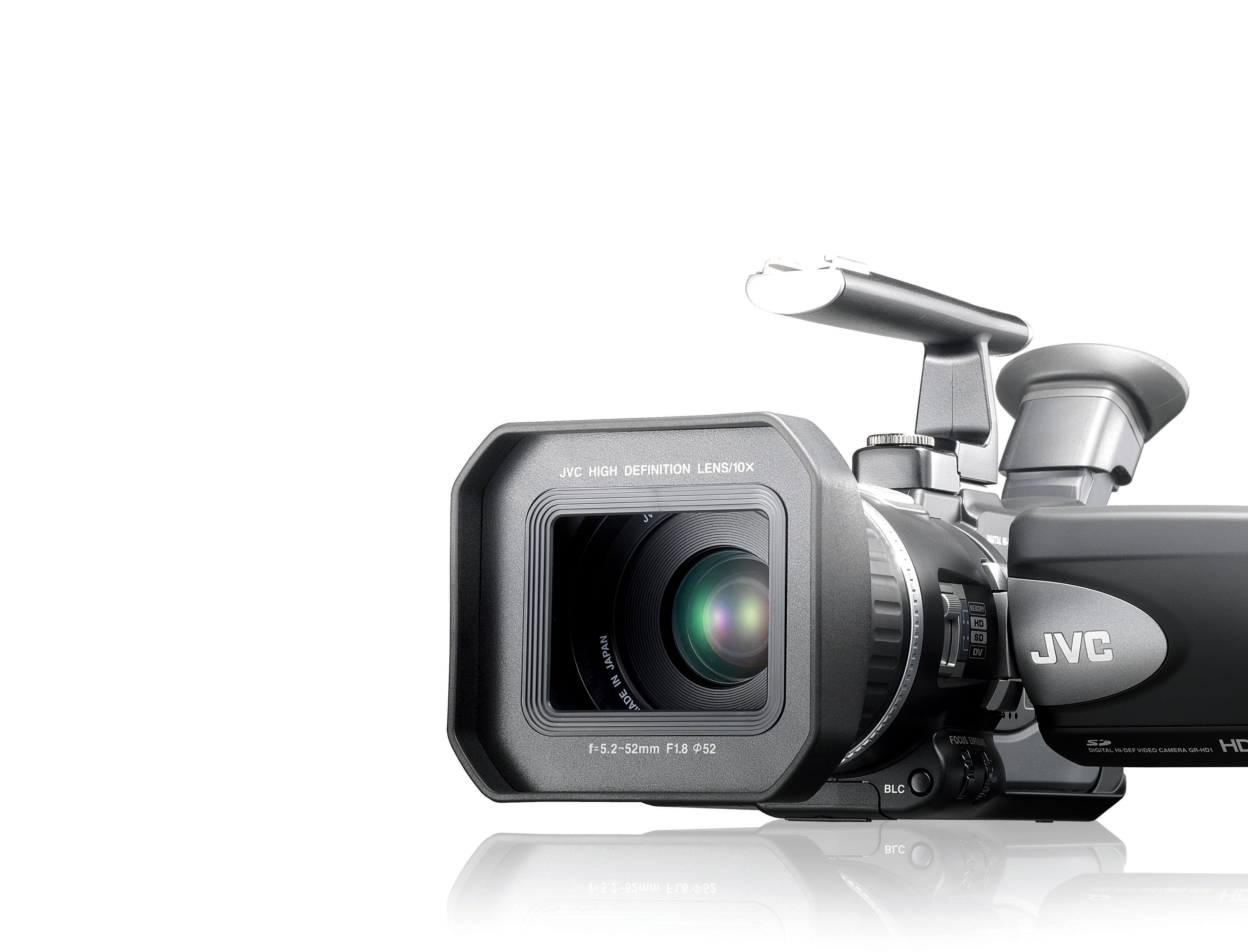 Jvc Jy Hd10u Hdtv Cameras