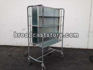 BCSSB / MULTI-MEDIA MOBILE CART 8 SHELVES