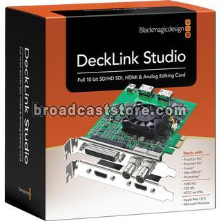 BLACKMAGIC DESIGN / DECKLINK STUDIO 2
